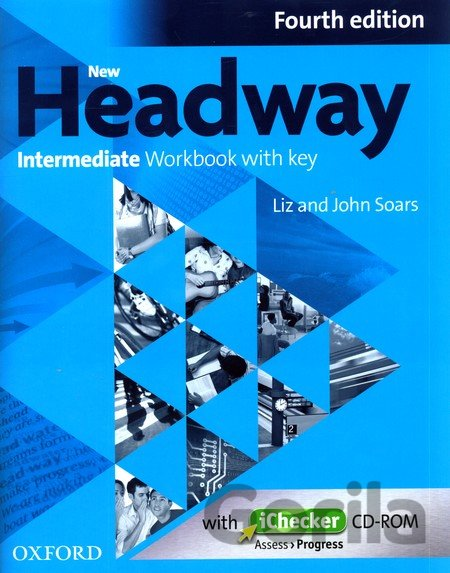 Kniha New Headway Fourth Edition Intermediate Workbook with Key + iChecker CD (John an - John Soars, Liz Soars