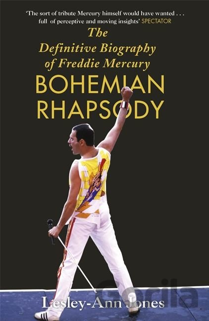 Kniha Freddie Mercury: The Definitive Biography  (Lesley-Ann Jones) - Lesley-Ann Jones