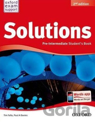 Kniha Solutions Pre-Intermediate Student´s Book 2nd Edition (P.A. Davies) - Tim Falla, Paul Davies