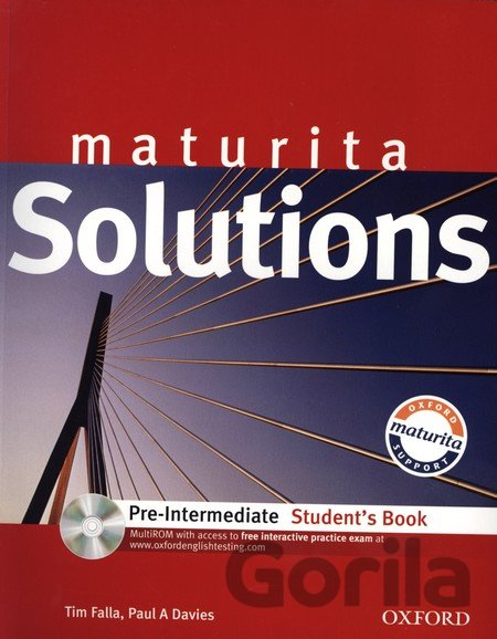 Kniha Maturita Solutions Pre-Intermediate Student´s Book + CD-ROM [set paperback + CD- - Tim Falla, Paul Davies