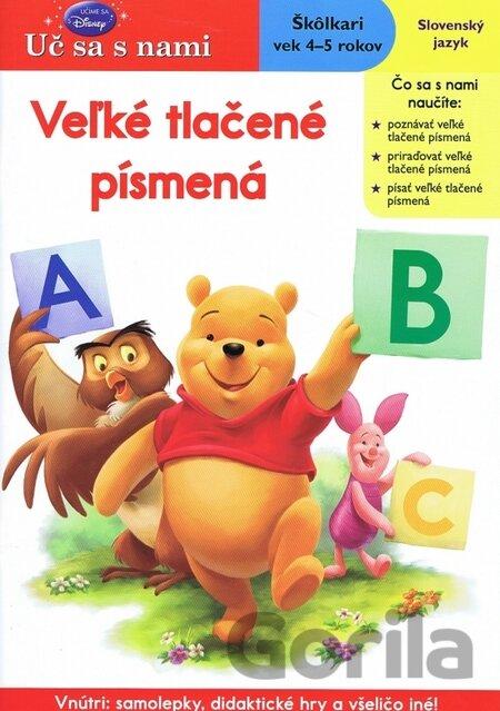f650c6a78 Kniha: Veľké tlačené písmená - Uč sa s nami za 4,26€ | Gorila