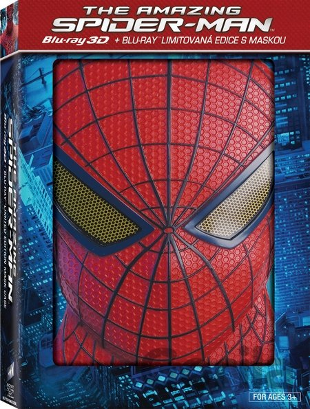 Blu-ray Amazing Spider-Man + maska Spider- Man (2D + 3D - Blu-ray) - Marc Webb