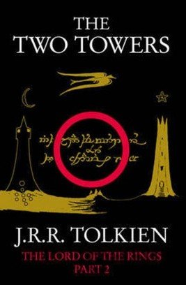 Kniha The Two Towers - J.R.R. Tolkien