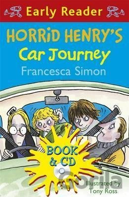 Kniha Horrid Henry's Car Journey  + CD Horrid Henry Early Reader (Francesca Simon) - Francesca Simon