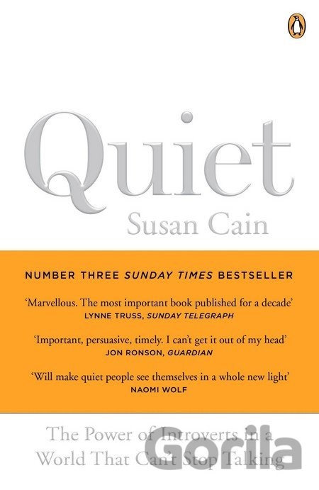 Kniha Quiet: The power of introverts (Susan Cain) - Susan Cain