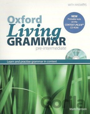 Kniha Oxford Living Grammar Pre-Intermediate With Key + Cd-Rom Pack (M. Harrison) - Mark Harrison