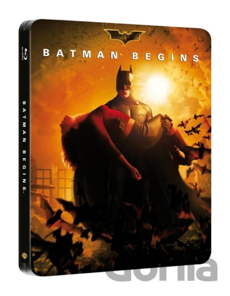 Steelbook Batman začíná (Steelbook - Blu-ray) - Christopher Nolan