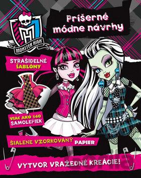a65af85cd181 Kniha  Monster High - Príšerné módne návrhy za 9