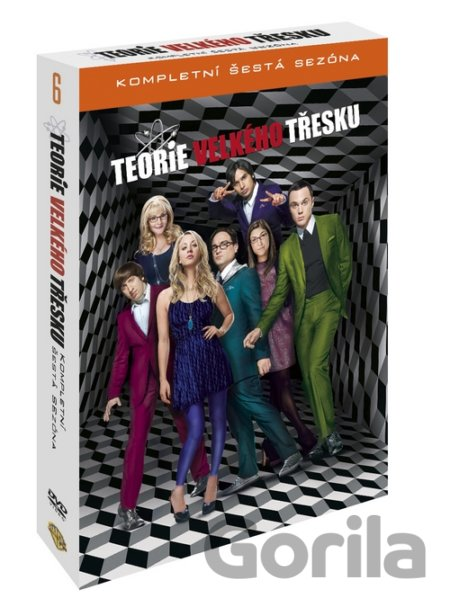 Teorie velkého třesku 6. série (3 DVD) - James Burrows, Ted Wass, Andrew D. Weyman, Joel Murray