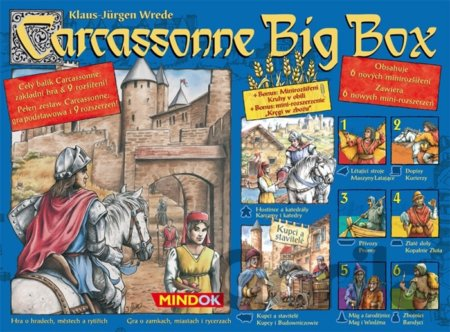 Hra Carcassonne Big Box