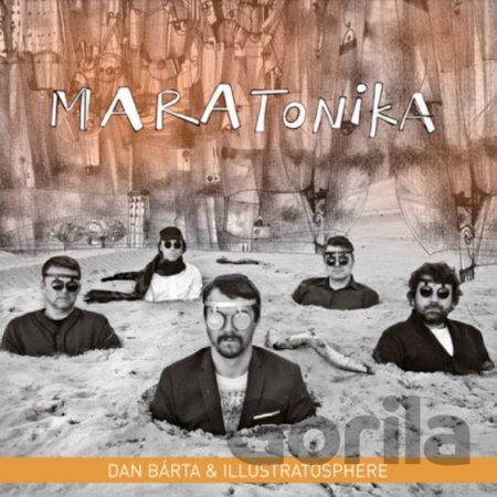 CD album BARTA,DAN & ILLUSTRATOSPHERE: MARATONIKA