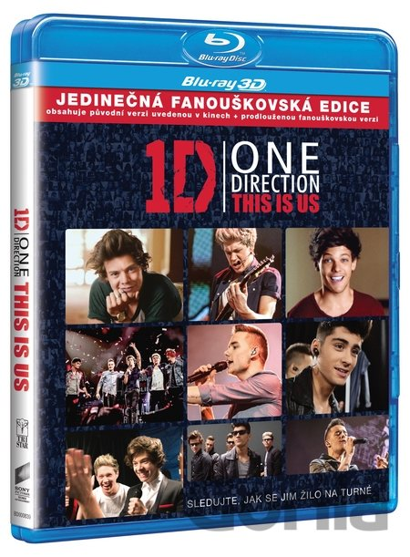 Blu-ray One Direction: This is Us 3D (3D + 2D - BD + DVD) - Morgan Spurlock