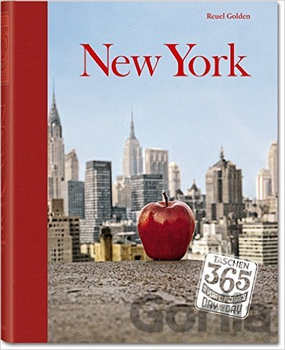 Kniha Taschen 365, Day-by-day, New York (Reuel Golden) (Hardcover) - Reuel Golden