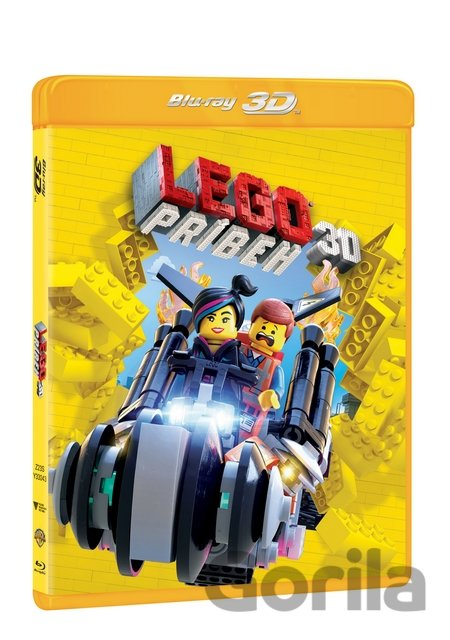 Blu-ray3D Lego příběh (3D + 2D - Blu-ray) - Phil Lord, Chris Miller
