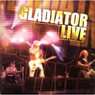CD album GLADIATOR: LIVE