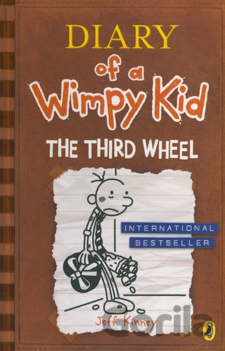 Kniha Diary of a Wimpy Kid: The Third Wheel (Book 7... (Jeff Kinney) - Jeff Kinney