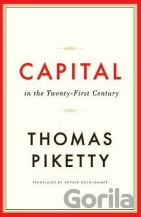 Kniha Capital in the Twenty-First Century - Thomas Piketty
