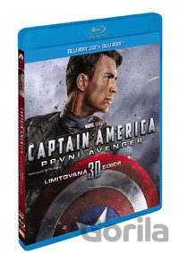 Blu-ray Captain America: První Avenger (3D + 2D - Blu-ray) - Joe Johnston