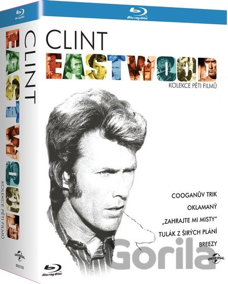Blu-ray Kolekce: Clint Eastwood (5 Blu-ray) - Don Siegel, Clint Eastwood