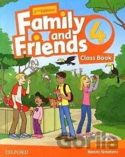 Kniha Family and Friends 2nd Edition 4 Course Book with MultiROM Pack (Naomi Simmons) - Naomi Simmons