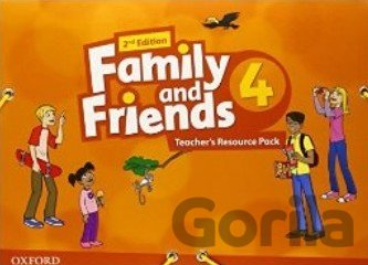 Kniha Family and Friends 2nd Edition 4 Teacher´s Resource Pack (Naomi Simmons) - Naomi Simmons