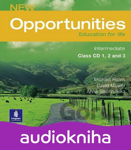 Audiokniha New Opportunities Intermediate Class CD (Harris, M. - Mower, D.) [CD] - Michael Harris, David Mower, Anna Sikorzyńska