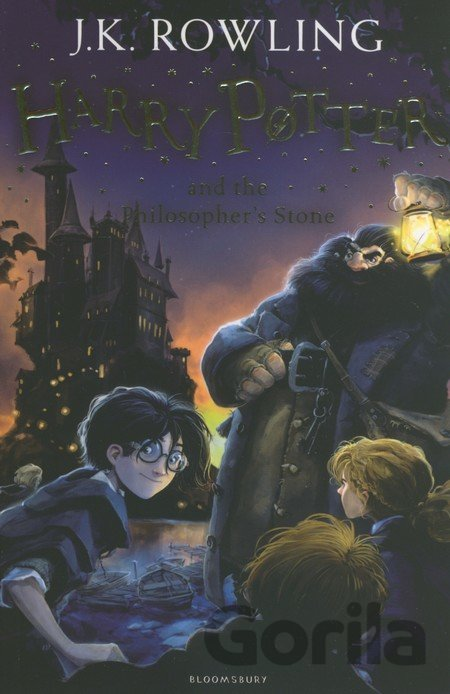 Kniha Harry Potter and the Philosopher's Stone - J.K. Rowling
