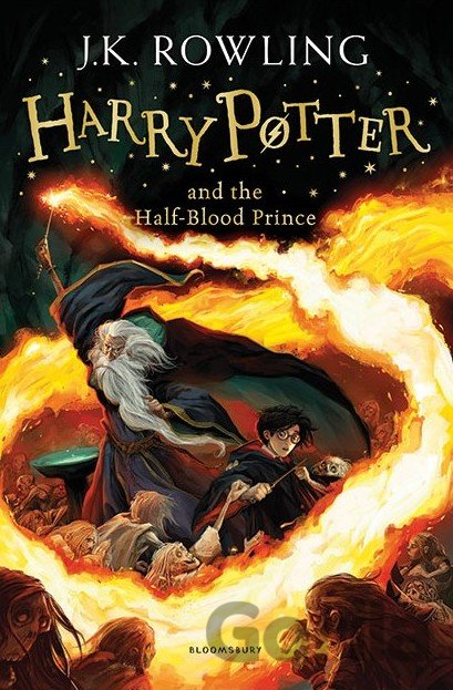 Kniha Harry Potter and the Half-Blood Prince - J.K. Rowling