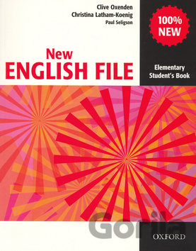 Kniha New English file elementary Studenťs Book [EN] - Clive Oxenden