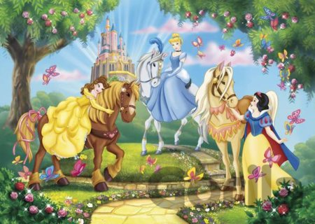 Puzzle Princess and Horses