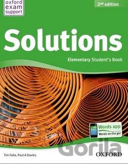 Kniha Solutions - Elementary - Student's Book - Tim Falla, Paul A. Davies