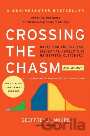 Kniha Crossing the Chasm - Geoffrey A. Moore