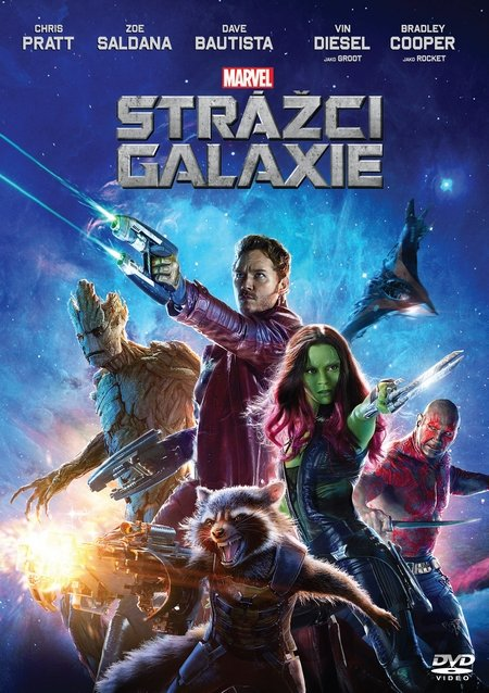 DVD Strážci Galaxie (2014) - James Gunn