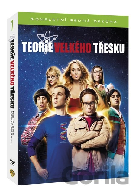 DVD Teorie velkého třesku 7.série (3 DVD) - Mark Cendrowski, James Burrows, Ted Wass, Andrew D. Weyman, Joel Murray