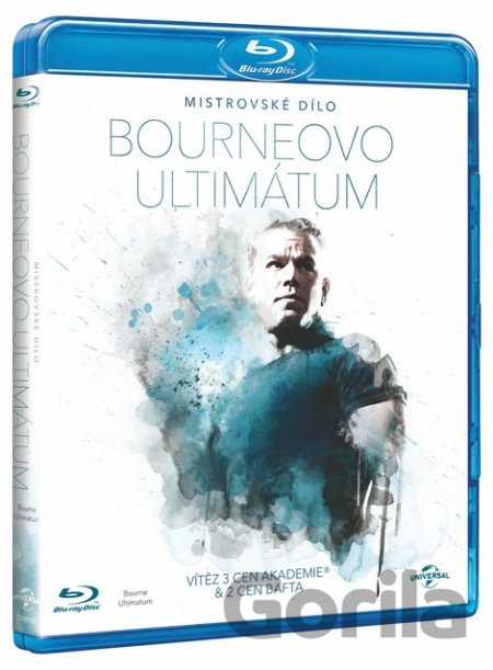 Blu-ray Bourneovo ultimátum (Mistrovské dílo - Blu-ray) - Paul Greengrass