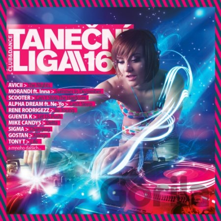 CD album TANECNI LIGA 166