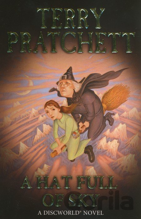 Kniha A Hat Full of Sky - Terry Pratchett