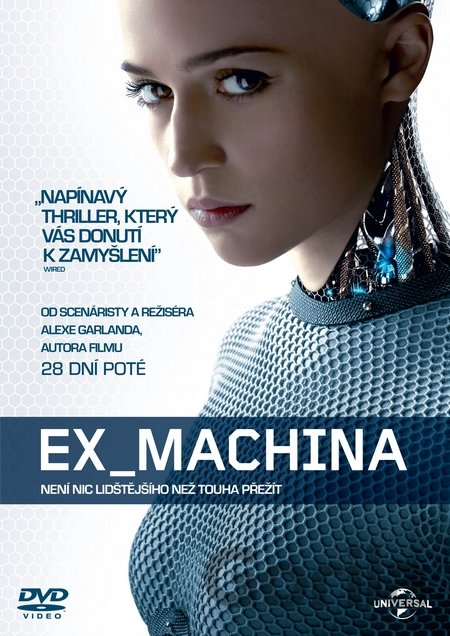 DVD Ex Machina (2015) - Alex Garland