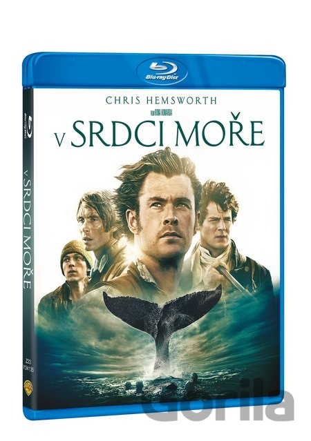 Blu-ray V srdci moře (Blu-ray) - Ron Howard