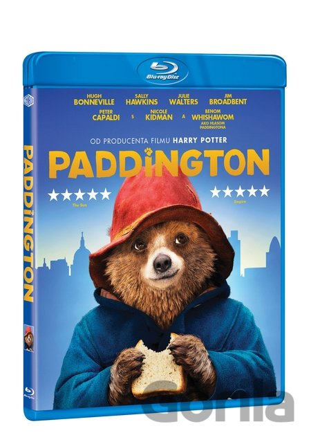 Blu-ray Paddington (2014 - SK/CZ dabing) - Blu-ray - Paul King