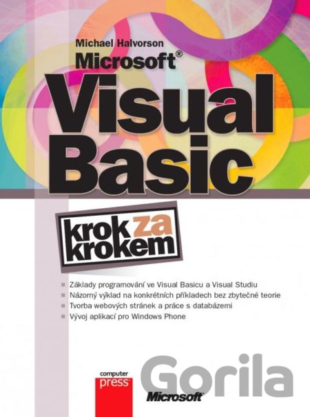 Kniha Microsoft Visual Basic - Michael Halvorson