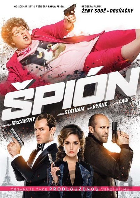 DVD Špión (2015) - Paul Feig