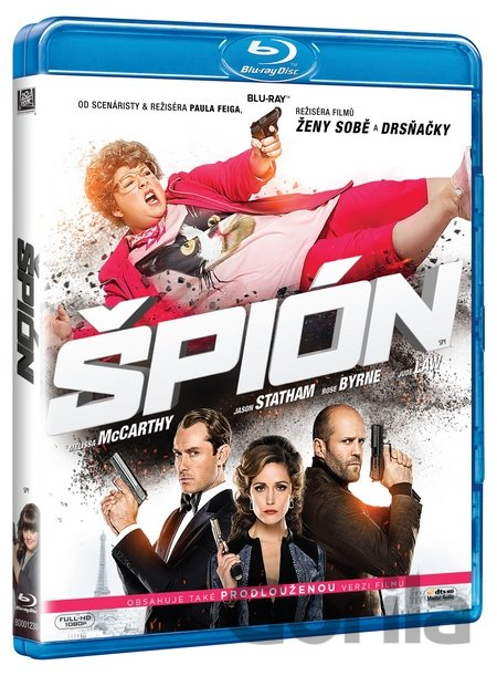 Blu-ray Špión (2015 - Blu-ray) - Paul Feig