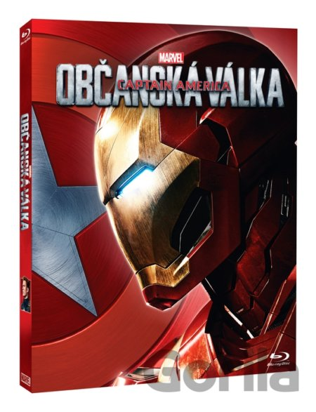 Blu-ray Captain America: Občanská válka - Iron Man (Blu-ray) - Anthony Russo, Joe Russo