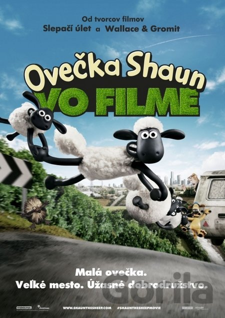 DVD Ovečka Shaun ve filmu - Mark Burton, Richard Starzak