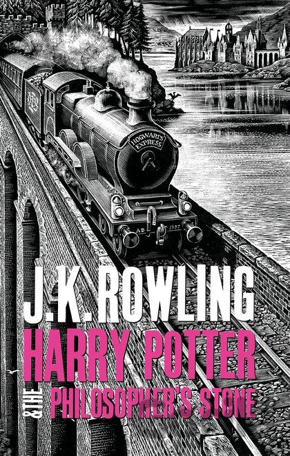 Kniha Harry Potter and the Philosopher's Stone (J.K. Rowling) - J.K. Rowling