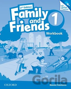 Kniha Family and Friends 1 - Workbook + Online Practice - Naomi Simmons