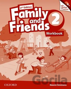 Kniha Family and Friends 2 - Workbook + Online Practice - Naomi Simmons