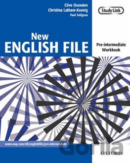 Kniha New English File Pre-Intermediate Workbook without Key (Oxenden, C. - Latham-Koe - Clive Oxenden