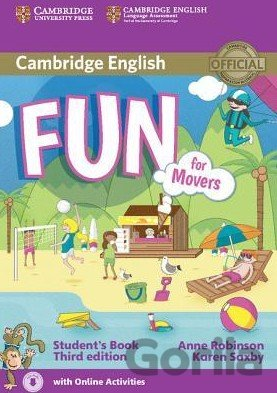 Kniha Fun for Movers - Student's Book - Anne Robinson, Karen Saxby